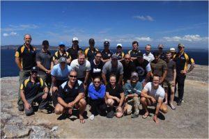 Ex BB participants and instructors.