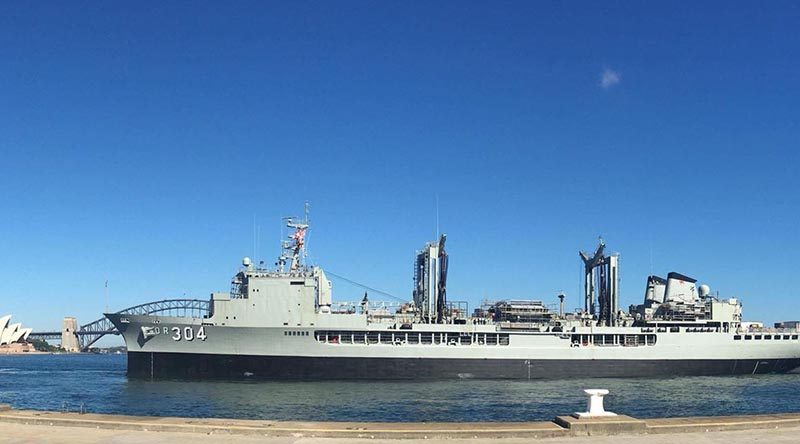 First Lady of the Fleet – HMAS Success.