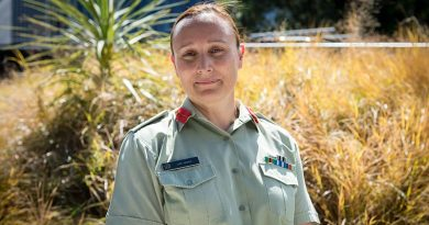 Brigadier Lisa Ferris, New Zealand's second female brigadier. NZDF photo.