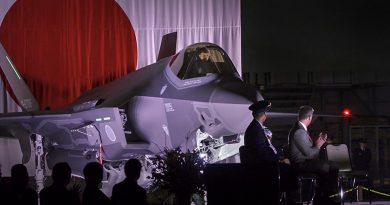 F-35A Roll Out Ceremony at JASDF Misawa Air Base. Lockheed Martin photo by Michael D. Jackson.