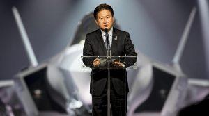 RoK's Vice Minister of National Defense Suh, Choo-suk. Photo by Angel DelCueto, Lockheed Martin.