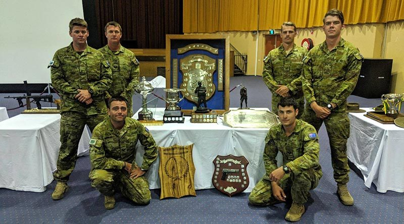 1RAR Shooting Team – Champion Major Unit