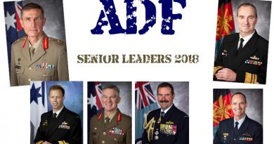 ADF senior leaders – 2018