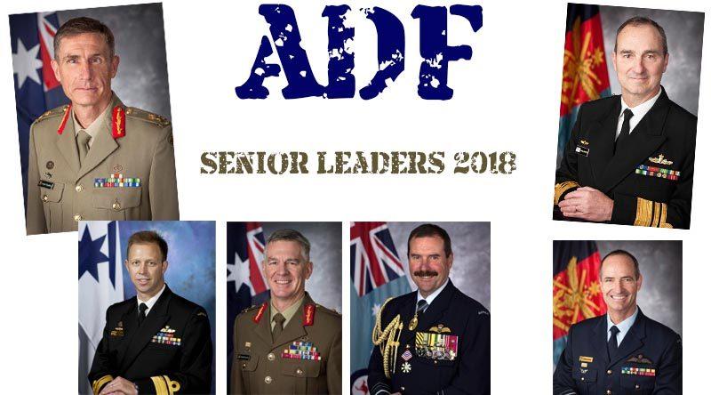 ADF senior leaders – 2018