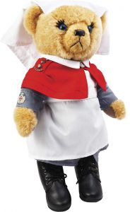 Sister Bernadette O'Meara, the Nurse Bear.