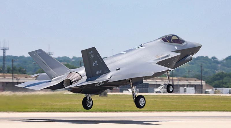 The 300th F-35 (an F-35A for the US Air Force) departs Lockheed Martin's Fort Worth, Texas, facilities fro deliver to the customer. Lockheed Martin photo.