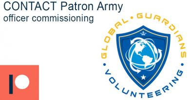 New member welcomed to the CONTACT Patron Army – Global Guardians Volunteering