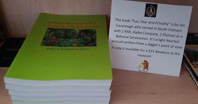 Ian Cavanough's book Fun, Fear, Frivolity now available as a paper book.