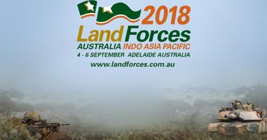 Land Forces logo 2018