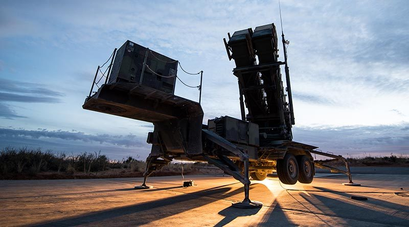 A Patriot air and missile defense system. Raytheon photo.