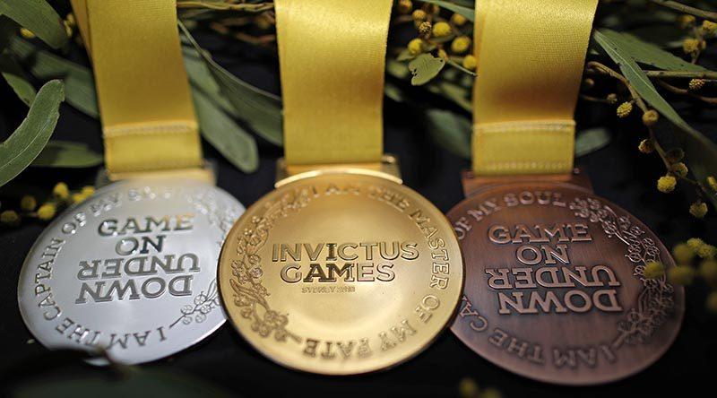 Invictus games 2018 medals