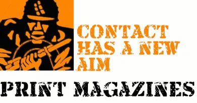 CONTACT has a new aim –print magazines. Will you support us?