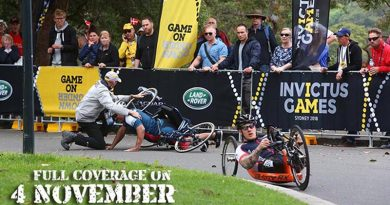 CONTACT's coverage of Invictus Games 2018 will be published in a special Issue of COMBAT Camera magazine on 4 November.
