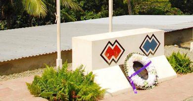 Dare memorial site East Timor.