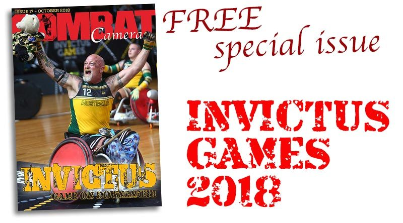 Invictus Games Sydney 2018 – special issue of COMBAT Camera magazine out now.