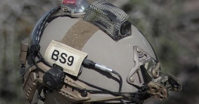 MOHOC helmet-mounted camera selected by US Navy Expeditionary Combat Command. Image supplied