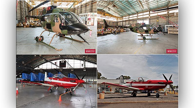 Australian military used aircraft auction.
