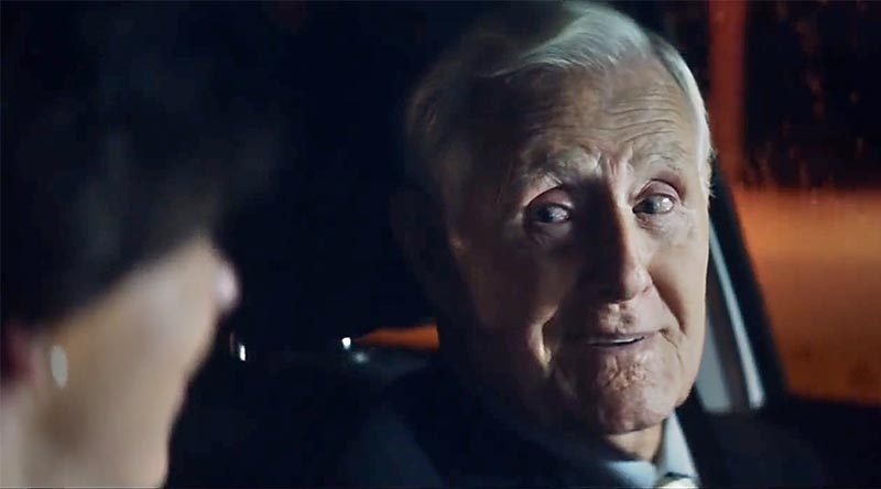 Screenshot from 'Shoulder to Shoulder, Always' cinema and TV commercial.