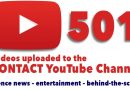 CONTACT's YouTube Channel hits new milestone