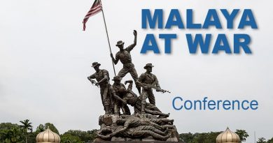 Malaya at War Conference, KL 2019