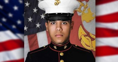 Lance Cpl. Sandoval-Pereyra, US Marine Corps, died after vehicle accident in Australia, 28 May 2019.