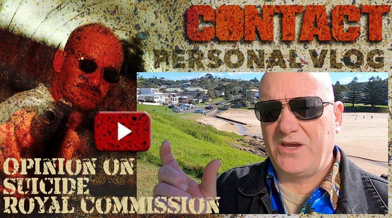 Editor's personal opinion on calling for a Royal Commission into Veteran suicide rate in Australia.
