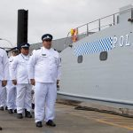 Samoa receives latest Guardian-class patrol boat