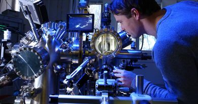 Quantum computing research at the University of Adelaide.