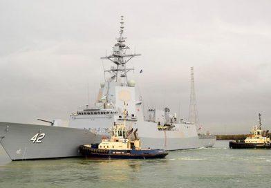 NUSHIPSydney starts builder sea trials