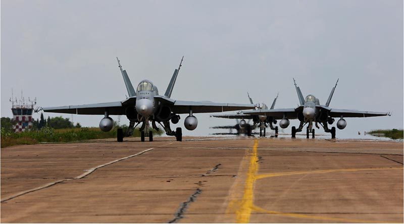 RAAF on two consecutive exercises in SE Asia