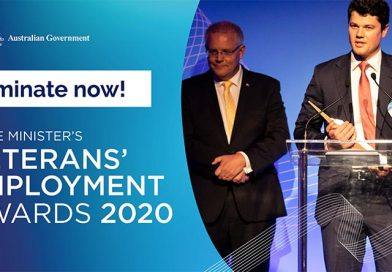 Nominations open for 2020 PM's Veterans' Employment Awards