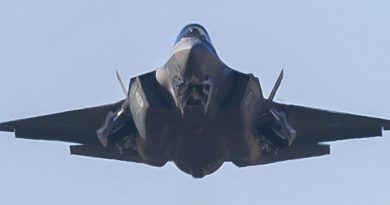 An F-35A Joint Strike Fighter from No.3 Squadron at RAAF Base Richmond. Photo by Sergeant Christopher Dickson.