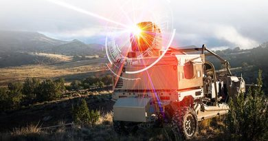 Raytheon's 'laser dune buggy' – a high-energy laser weapon system mounted on an MRZR vehicle – will be deployed by the USAF shortly.Raytheon image.