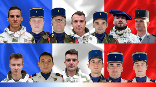 The victims of a French Cougar and Tiger collision, 25 November 2019