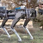 Army tests autonomous legged robot