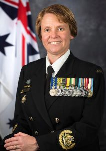 Warrant Officer of the Navy Deb Butterworth. Photo by Leading Seaman James McDougall.