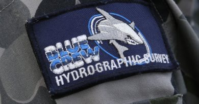 Hydrographic Survey Blue Crew patch.
