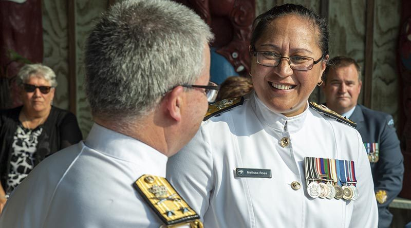 First female Commodore and Deputy Chief RNZN
