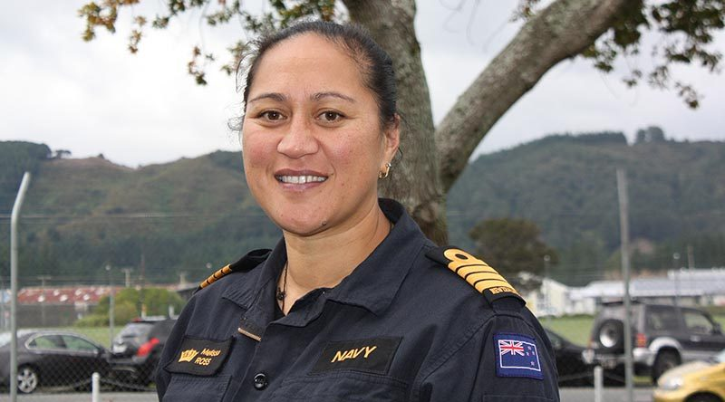 Captain Melissa Ross, Royal New Zealand Navy. RNZN photo.