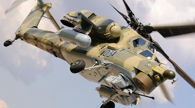 A new Mi-28N in operational configuration. Photo supplied.