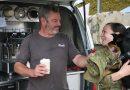 Coffee and Tuna good for morale