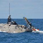 Northrop Grumman tests sonar on unmanned mine hunter