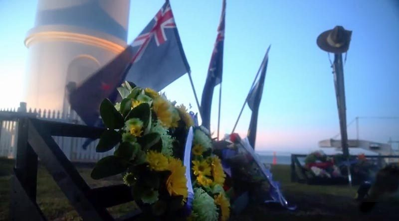 Dawn Service, Kiama, NSW. Photo by Brian Hartigan.