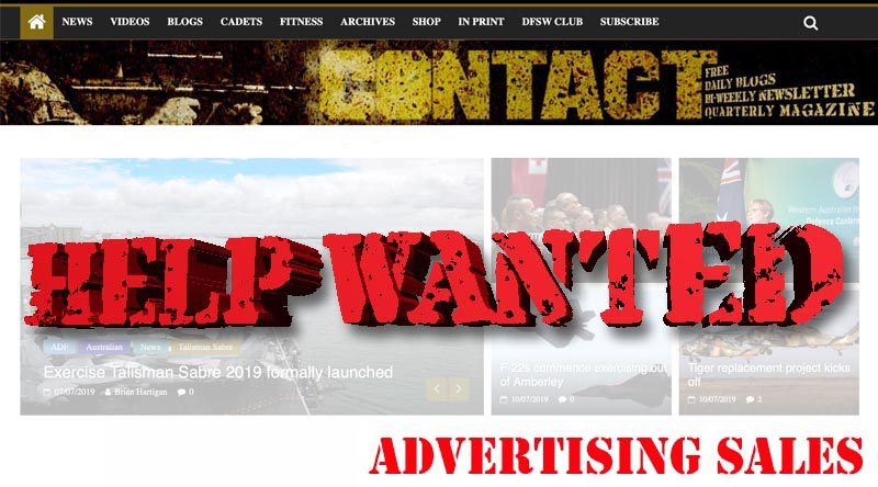 Advertising sales agent required