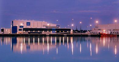 ASC shipbuilding facilities in Osbourne, South Australia. ASC image.