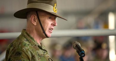 Major General John Frewen issues back-to-the-future plea to nice.