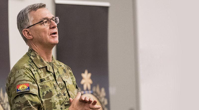 Chief of Army Lieutenant General Rick Burr.