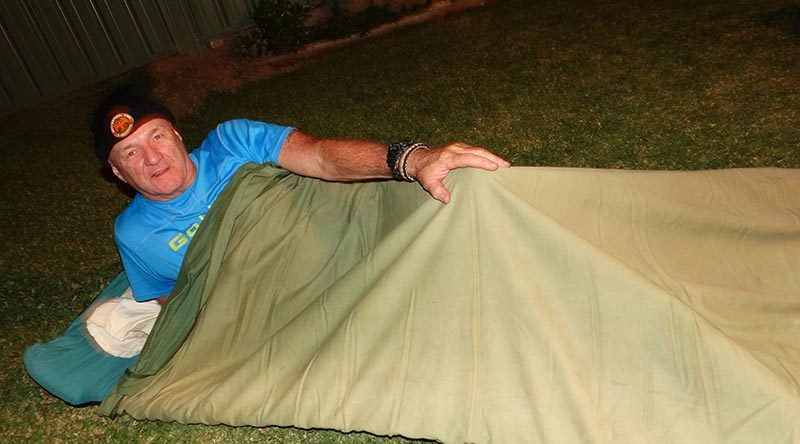 "Major Darryl Kelly, long-time contributor of the ""Just Soldiers"" series in CONTACT magazine, took up the Exercise Stone Pillow challenge sent out by CONTACT."