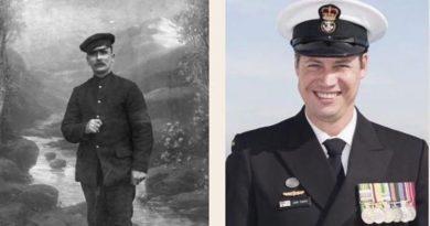 Thomas Marsh, RIP 1919, and Dave Finney, RIP 2019.