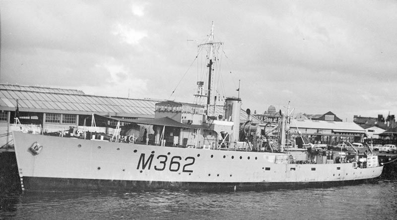 Imagery scanned from Navy Historic Archive – HMAS Junee.